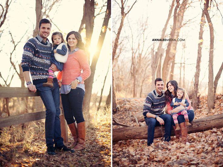 Anna Lee Media, Oklahoma portrait photographer, family photo outfits ideas, woods, creative, cute, bright, fall, autumn