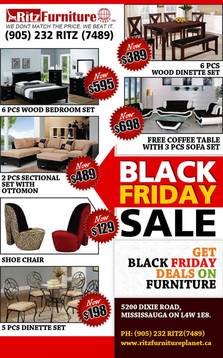 Black friday sale is on save your phone 905 for Furniture black friday