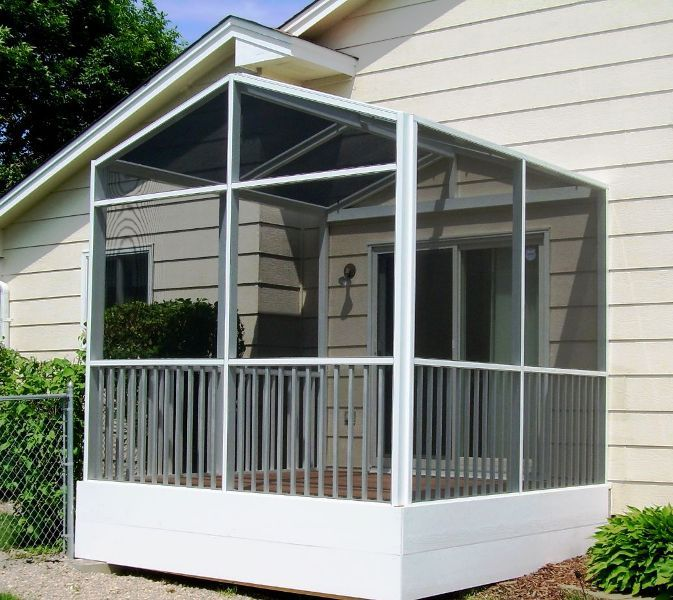 screen porch system systems cost knoxville tn price