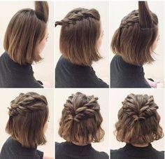 причски для коротких волос