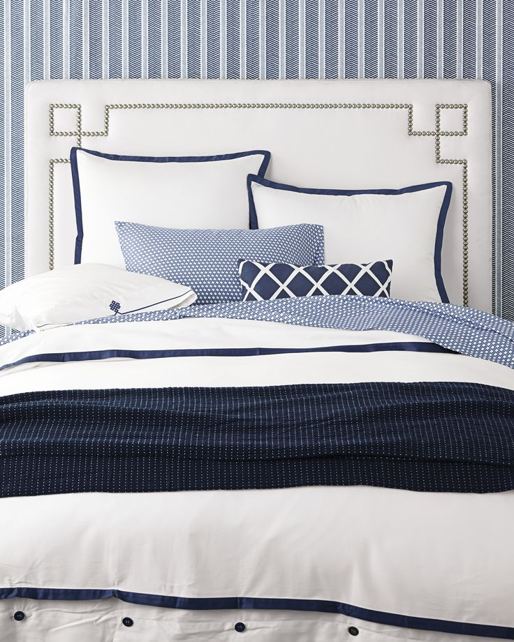 For those who crave a quieter bed, this beautiful layering piece allows you to start simple and add on as you desire. Dial it up with sheets in a bold color and pattern, or keep it clean and classic – whatever suits your style.