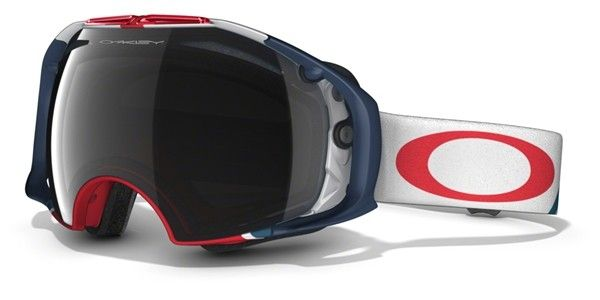 OAKLEY Airbrake Flight Series Dark Grey & H.I. Persimmon női síszemüveg. Optimális látást biztosít bármilyen helyzetben. KATTINTS IDE!