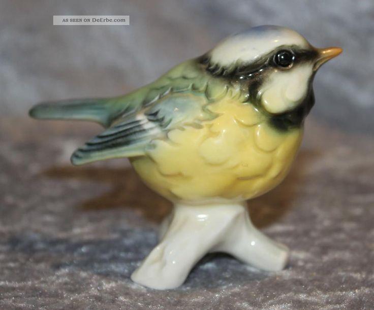 Goebel Porzellan - Vogel Blaumeise - Modell Nr. 11 - Glänzend Nach Marke & Herkunft Bild