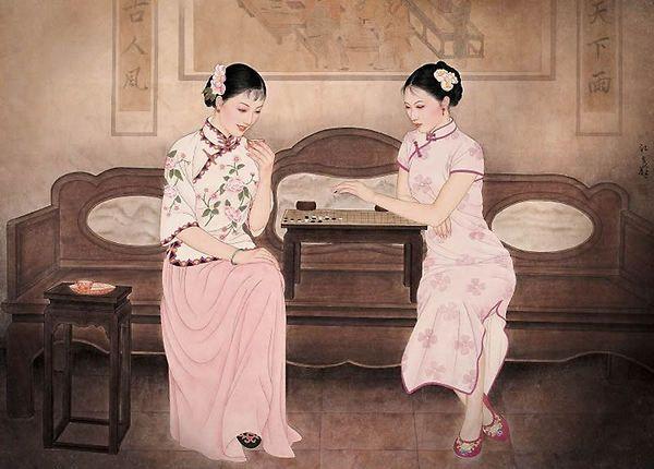 汪立峰工笔人物画7.jpg (600×430)