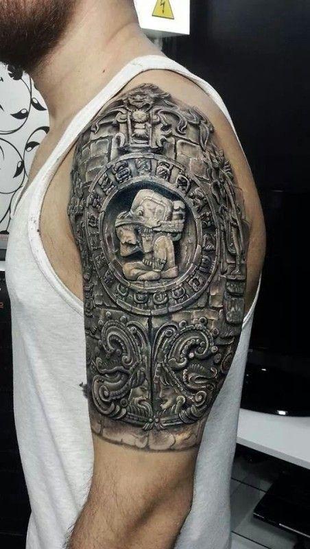 best 25 aztec tribal tattoos ideas on pinterest arm tattoos samoan aztec tattoo designs and. Black Bedroom Furniture Sets. Home Design Ideas