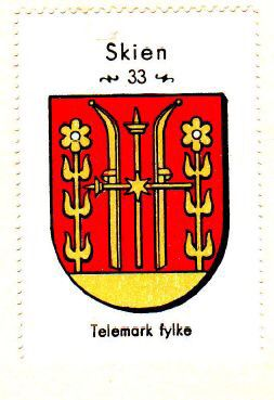 Skien, Telemark fylke