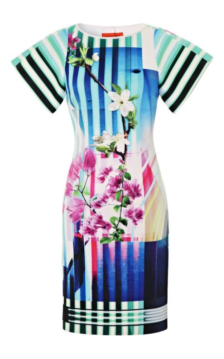 Hollywood Bowl Dress by Clover Canyon for Preorder on Moda Operandi