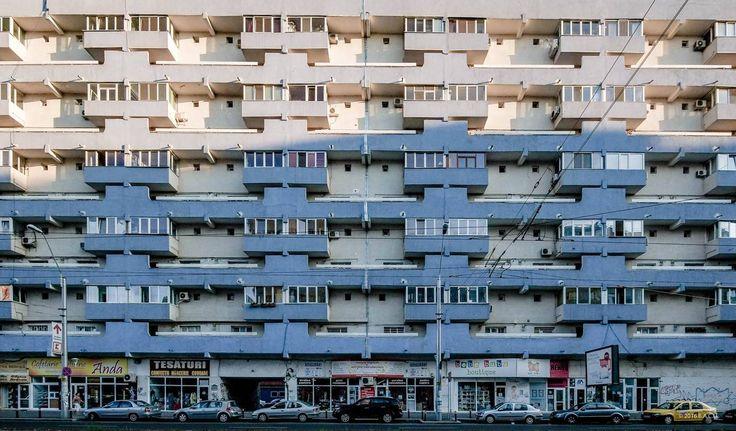 Housing building on Iancului avenue,(70's) Pantelimon neighborhood, Bucharest. Romania. Proiect Bucuresti. © BACU