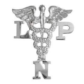 NursingPin - Licensed Practical Nurse LPN Graduation Nursing Pin in Sterling Silver