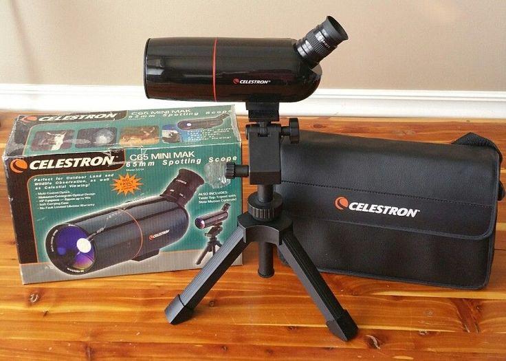 Celestron C-65 Mini Mak 65mm Spotting Scope 30-90mm Zoom Model 52234   Sporting Goods, Hunting, Scopes, Optics & Lasers   eBay!
