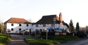 The Angel Inn At Addington Green West Malling in the English County of Kent. Pleasantly located set back from Addington Green. The Angel Inn dates from the 14th Century.     They serve wide range of freshly prepared meals to enjoy in a traditional and relaxing setting.