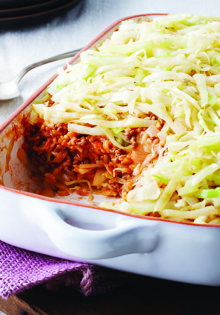 Easy Layered Cabbage Casserole – Casseroles are easy. Stuffing cabbage is hard. In this recipe, you get stuffed cabbage flavor with casserole simplicity that's perfect for adding to your dinner table.