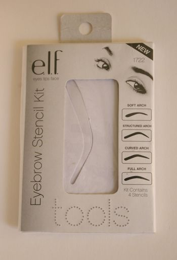E.L.F. Eyebrow Stencil Kit Review photo