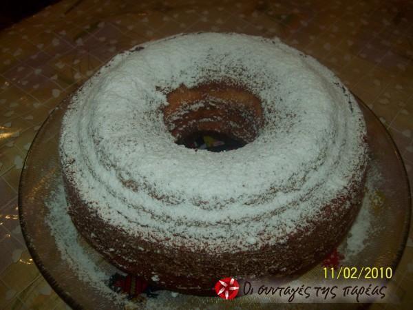 Κέικ πορτοκαλάδας #sintagespareas