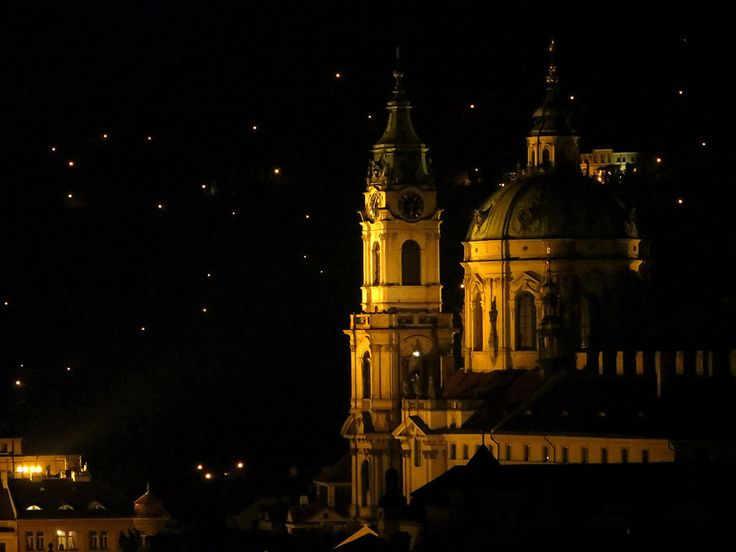 The Church of Saint Nicholas also called the Saint Nicholas Cathedral is the Baroque church in Lesser Town, Prague, Czech Republic