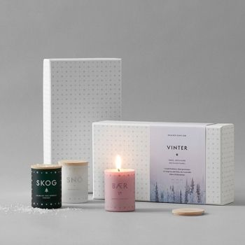 Skandinavisk's set of scented candles, VINTER