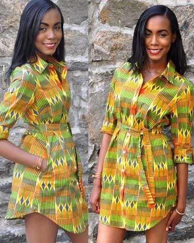 15 robes chemise en pagnes Africains et Hollandais pour ...