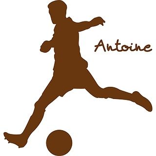 Stickers prénom footballeur