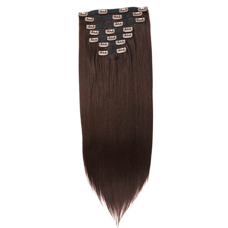 BOL Synthetic Straight Clip in Hair Extensions Dou…