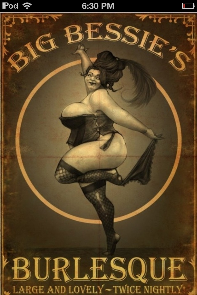 Burlesque art poster Big beautiful curvy real women, real sizes with curves, accept your body sizes, love yourself no guilt, plus size, body conscientiousness Fragyl Mari embraces you!