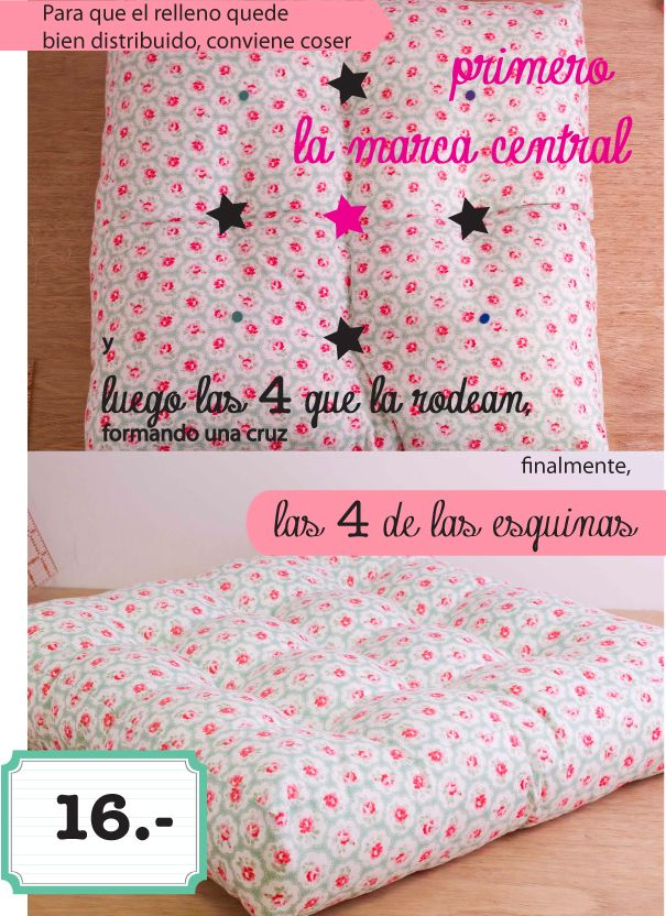 Yay! the tutorial! albeit in another language! :) I will figure out!! dobleufa: Almohadones acolchados (tutorial)