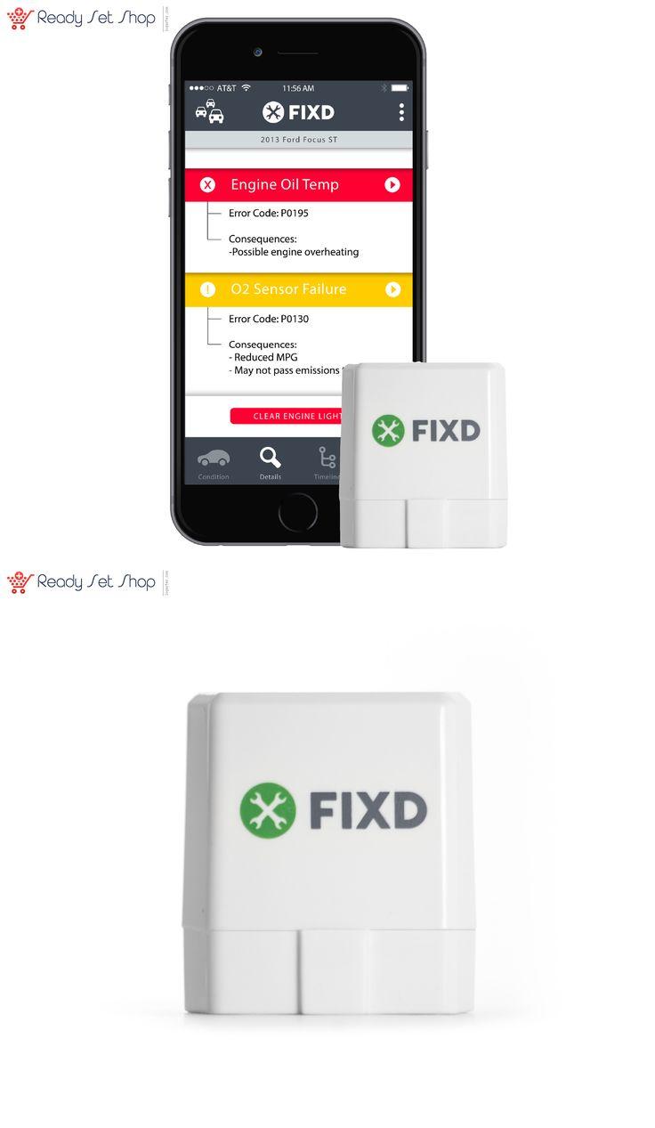 Other car electronics accs fixd obd ii active car health monitor diagnostic tool