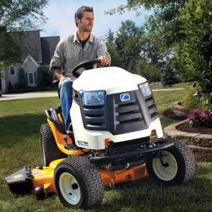 Riding Lawn Mower Reviews: All riding lawn mowers fall into one of four classes. Use this review of features, drawbacks and prices to decide which type suits your needs and budget. Read more: http://www.familyhandyman.com/landscaping/lawn-care/riding-lawn-mower-reviews/view-all