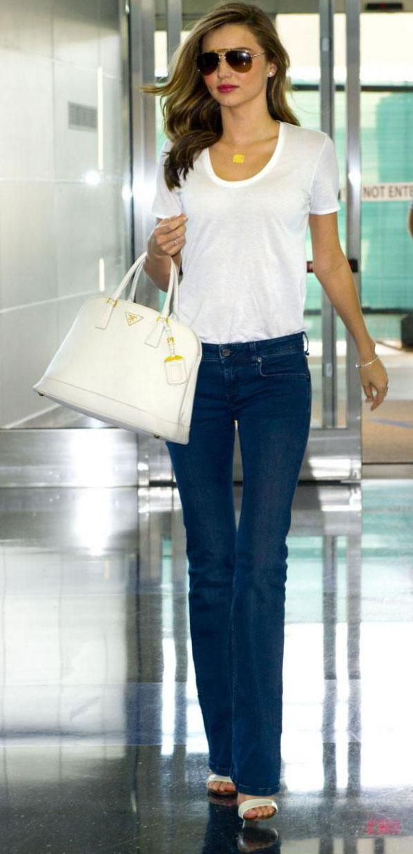 VipGuarantee - MIRANDA KERR WITH FLARE DENIM