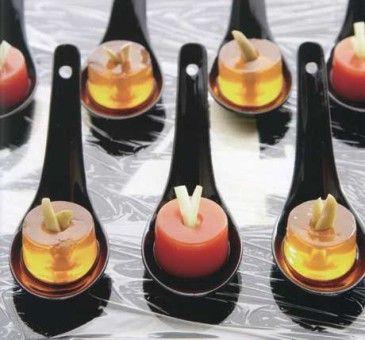 gelatina di pomodoro e sedano di Spritz - biblotecaculinaria.it