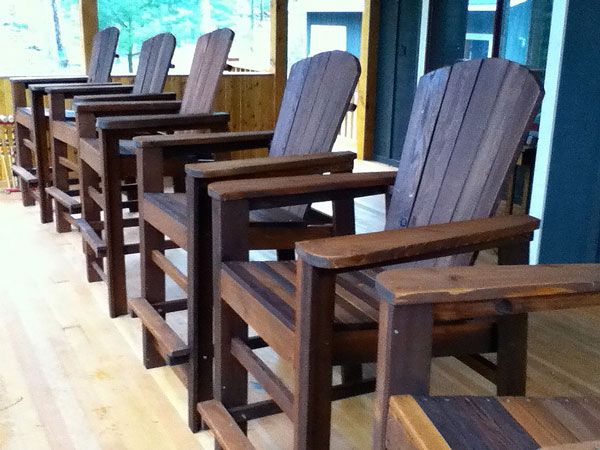 Bar Height Adirondack Chair Plans - WoodWorking Projects ...