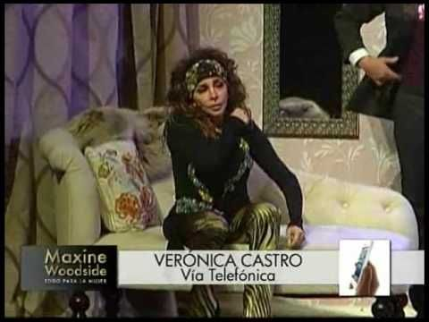 Maxine Woodside conversó con Verónica Castro - YouTube