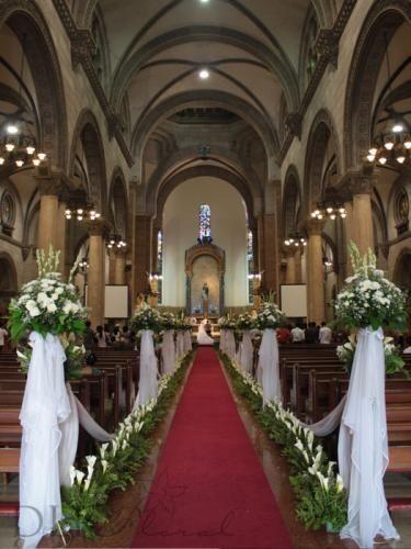 Wedding Flowers Decorations  Manila  Philippines  DLR
