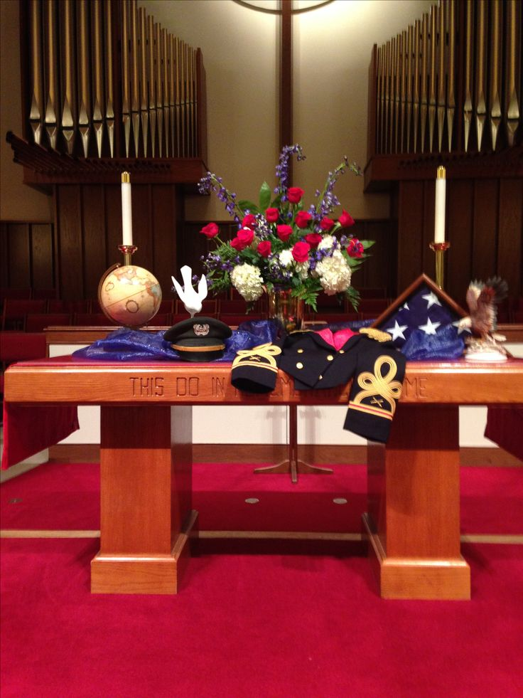 How To Decorate The Table For Remembrance Day