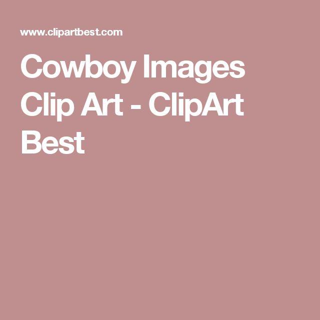Cowboy Images Clip Art - ClipArt Best