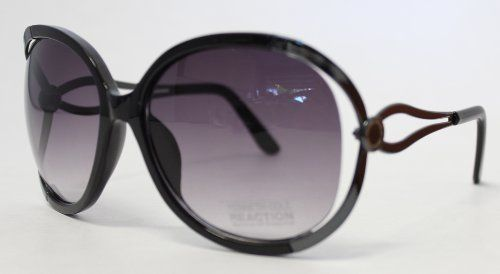 Kenneth Cole Sunglass Black Modified Metal Fashion, Gradient Smoke Lens 1193 1B by Kenneth Cole Sunglass Black Modified Metal Fashion, Gradient Smoke Lens 1193 1B. $19.99. Kenneth Cole Reaction Sunglass Black Modified Metal Fashion, Gradient Smoke Lens 1193 1B Gradient Smoke Lens Modified Square Metal Frame Black Temple Tips Molded Plastic Nose Pads Open Side on front of Frame Classic Style, basic style Come with a plain Kenneth Cole Reaction Pouch micro fiber ...