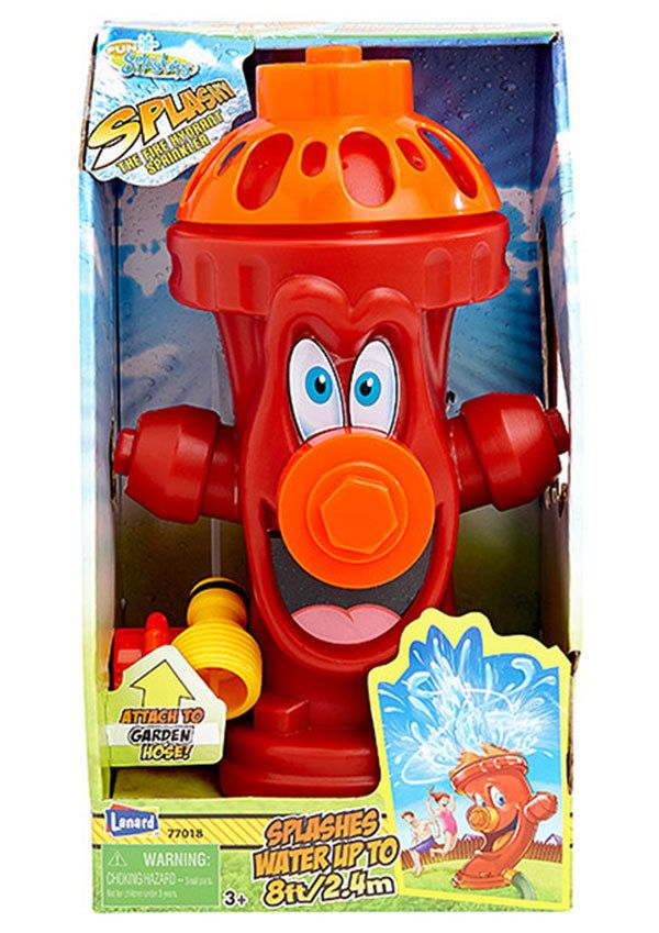 Splashy The Fire Hydrant Water Sprinkler Toy Water