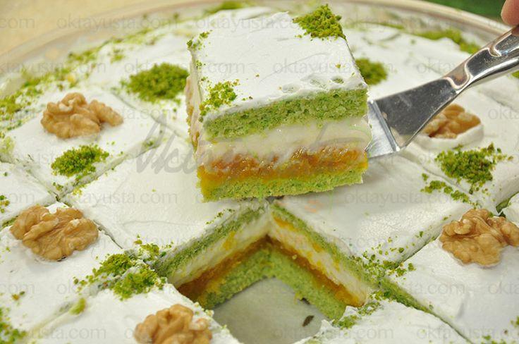 Balkabaklı Ispanaklı Pasta | Oktay Usta [ Resmi Web Sitesi ]