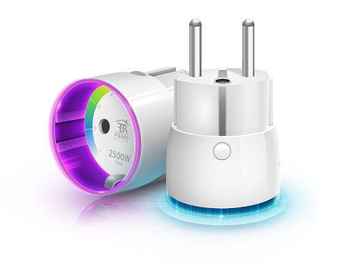 plug 01 Fibaro présente son Wall Plug aux Etats Unis indication consommation