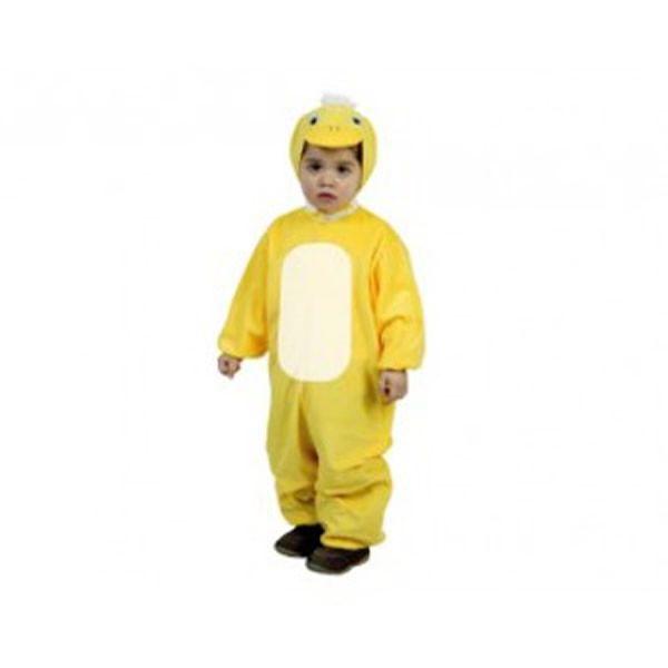 DisfracesMimo, disfraz de pato amarillo infantil 1 a 2 años.Compra tu disfraz barato y podrás montar tu propio corral de animales sin salirte de casa, en fiestas temáticas y fin de curso.