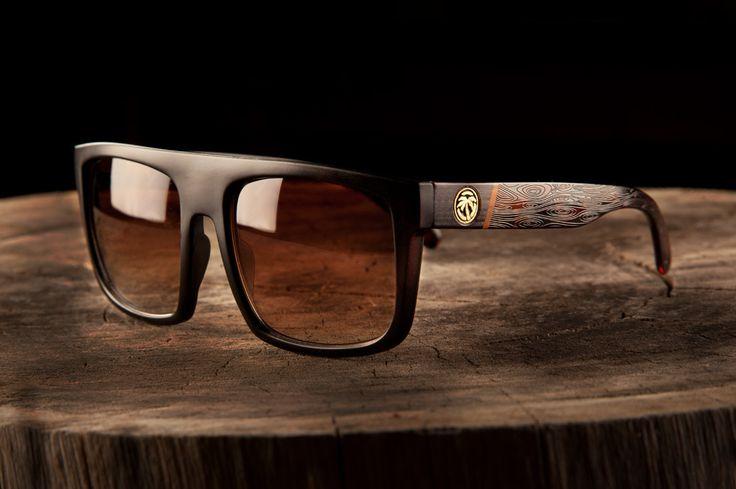 Heat Wave Visual Regulator Woodgrain sunglasses