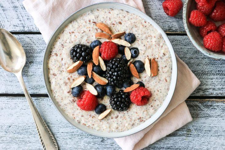 Gesundes Frühstück: Low Carb Protein Brei   – Porridge und Müsli und Ähnliches