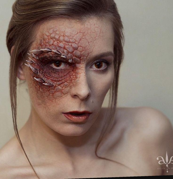 Dragon makeup                                                                                                                                                                                 More