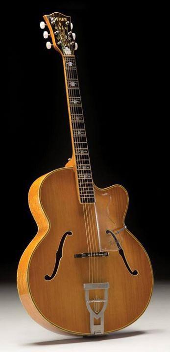 Vintage Hofner Committee Archtop Guitar