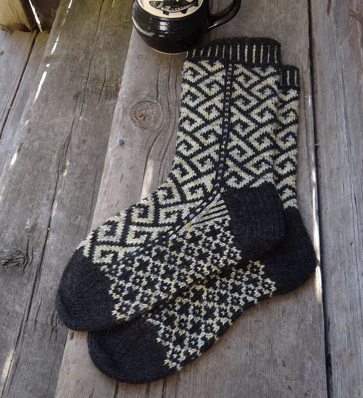 Ravelry: Philosophers Walk Socks by Lesley Melliship