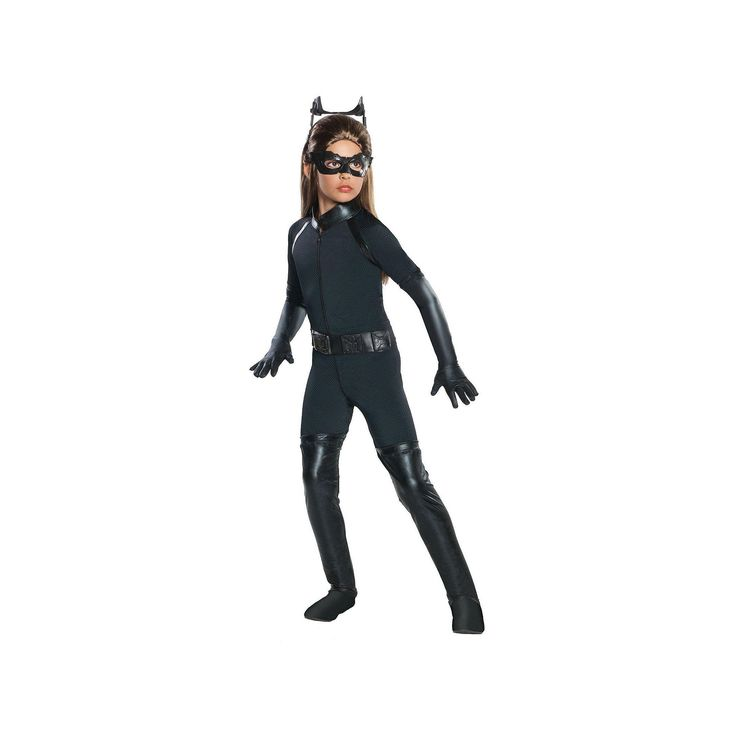 Best 25 catwoman costume kids ideas on pinterest cat woman diy the dark knight rises deluxe catwoman costume kids girls size 4 6x black solutioingenieria Image collections