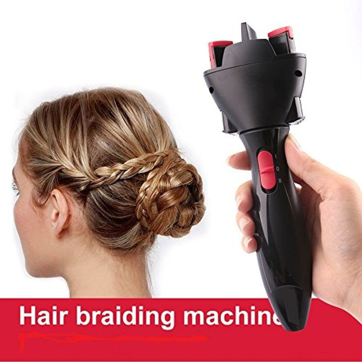Electric Automatic Smart DIY Braid Magic Hair Braider Tool Hair Braiding Machine Black Color -- See this great product. (This is an affiliate link and I receive a commission for the sales)