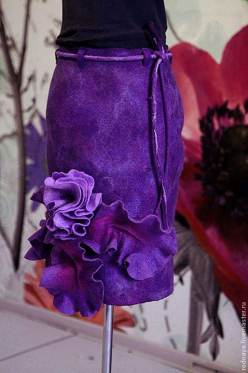 """Купить Юбка """"Iris"""" - юбка, одежда, шерсть, зимняя одежда, шерстяная юбка, 100% шерсть"""
