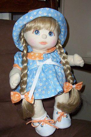 Vintage My Child doll.