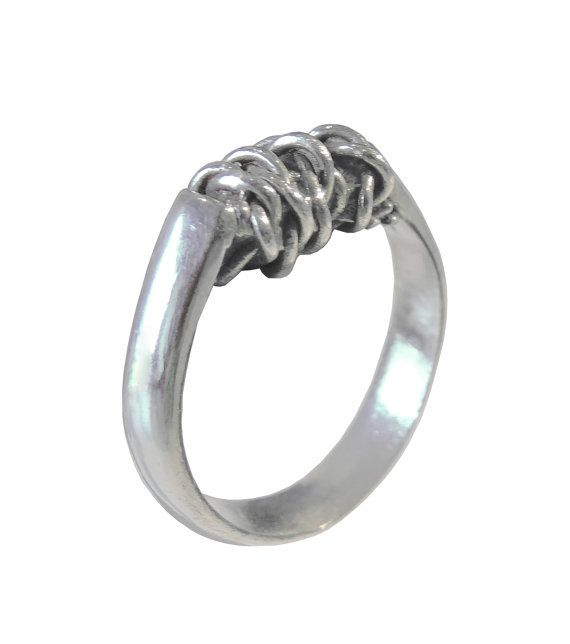 Electrical Mind Ring Contemporary Jewelry by AnaBragancaJewellery