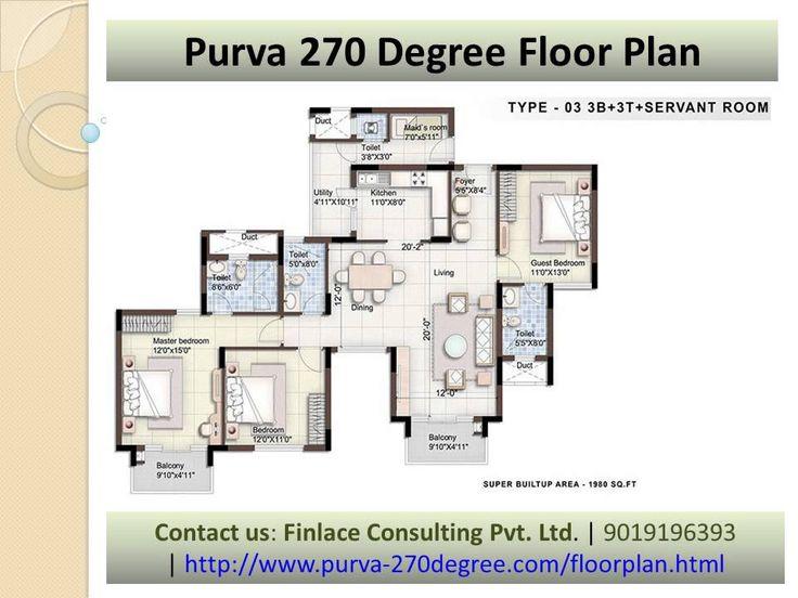 Call @ 9019196393 | Purva 270 Degree C V Raman Nagar Bangalore